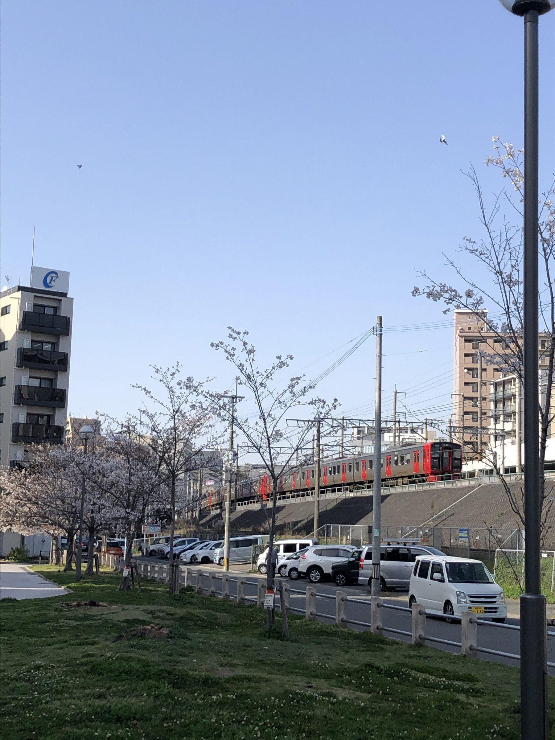 ATU 福岡 警備 さくら 電車