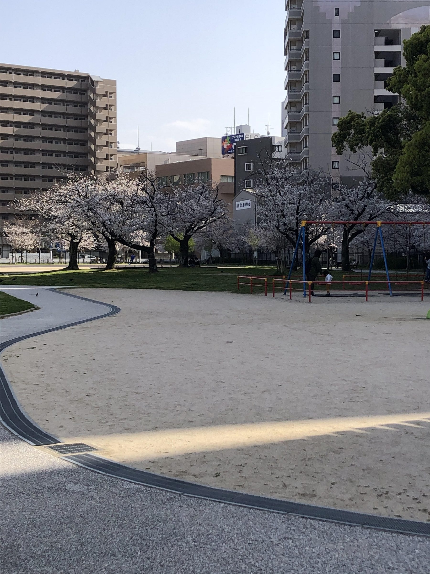 ATU 福岡 警備 公園 さくら