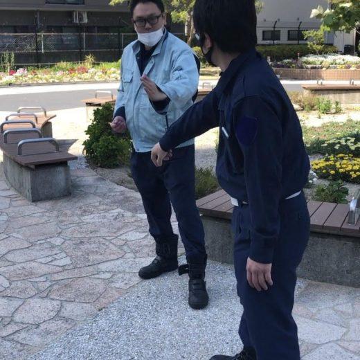 ATU 福岡 警備 徒手 片手内回し 払い