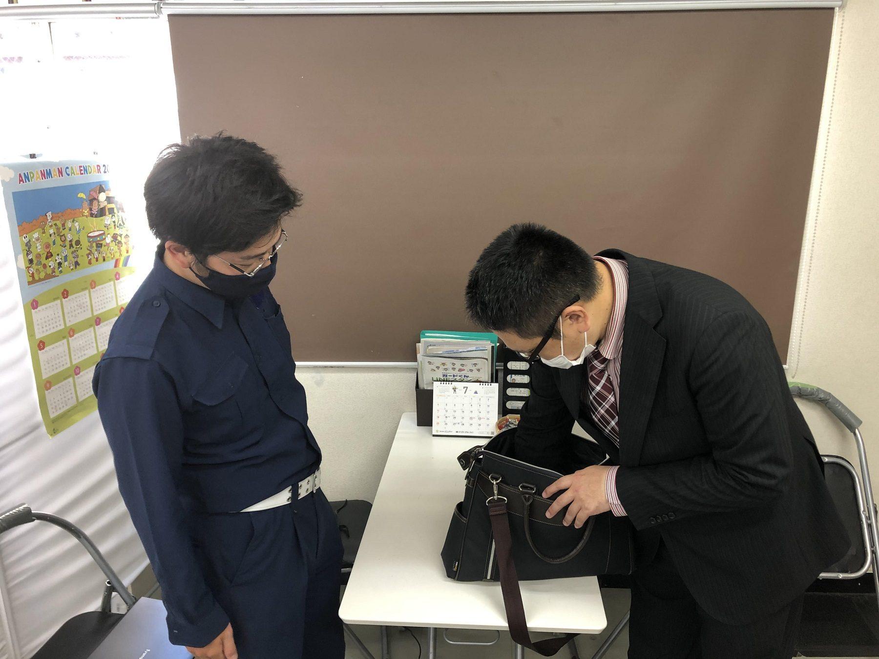 ATU 福岡 警備 空港保安 実技 手荷物検査